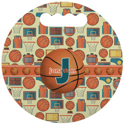 Basketball Stadium Cushion (Round) (Personalized)
