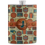Basketball Stainless Steel Flask (Personalized)