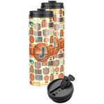 Basketball Stainless Steel Skinny Tumbler (Personalized)