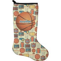 Basketball Christmas Stocking - Neoprene (Personalized)