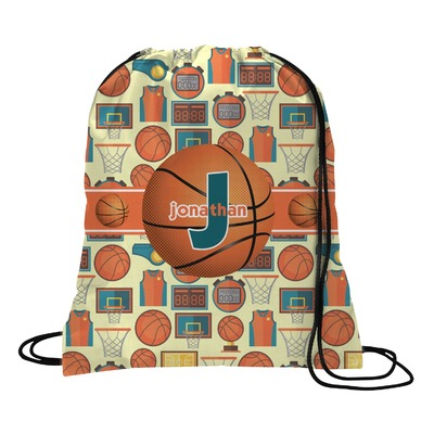 Basketball Drawstring Backpack (Personalized)