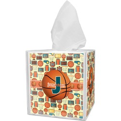Basketball Tissue Box Cover (Personalized)