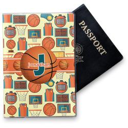 Basketball Vinyl Passport Holder (Personalized)