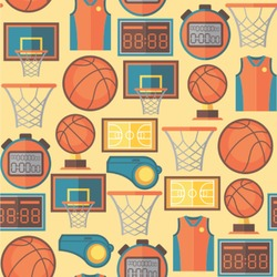 Basketball Wallpaper & Surface Covering