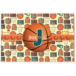Basketball Woven Mat (Personalized)