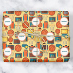 Basketball Wrapping Paper (Personalized)