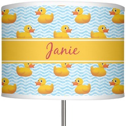 "Rubber Duckie 13"" Drum Lamp Shade (Personalized)"