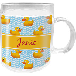 Rubber Duckie Acrylic Kids Mug (Personalized)