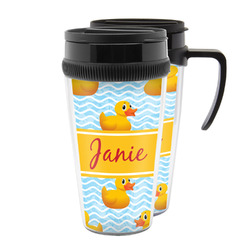 Rubber Duckie Acrylic Travel Mugs (Personalized)