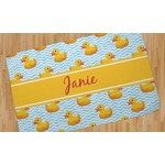 Rubber Duckie Area Rug (Personalized)