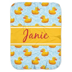 Rubber Duckie Baby Swaddling Blanket (Personalized)