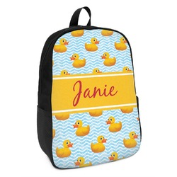 Rubber Duckie Kids Backpack (Personalized)