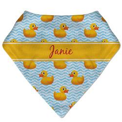 Rubber Duckie Bandana Bib (Personalized)