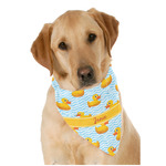 Rubber Duckie Dog Bandana Scarf w/ Name or Text
