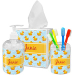 Rubber Duckie Bathroom Accessories Set (Personalized)