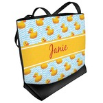 Rubber Duckie Beach Tote Bag (Personalized)
