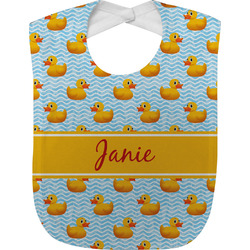 Rubber Duckie Baby Bib (Personalized)