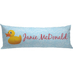 Rubber Duckie Body Pillow Case (Personalized)