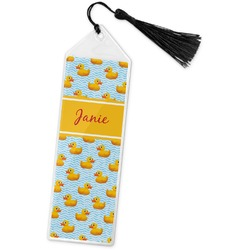 Rubber Duckie Book Mark w/Tassel (Personalized)