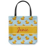 Rubber Duckie Canvas Tote Bag (Personalized)