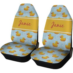 Rubber Duckie Car Seat Covers (Set of Two) (Personalized)