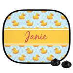 Rubber Duckie Car Side Window Sun Shade (Personalized)