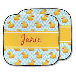 Rubber Duckie Car Sun Shade - Two Piece (Personalized)