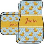 Rubber Duckie Car Floor Mats (Personalized)