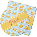 Rubber Duckie Rubber Backed Coaster (Personalized)
