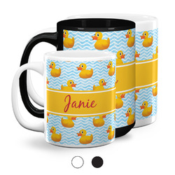 Rubber Duckie Coffee Mugs (Personalized)
