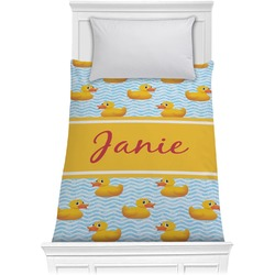 Rubber Duckie Comforter - Twin (Personalized)