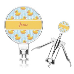 Rubber Duckie Corkscrew (Personalized)