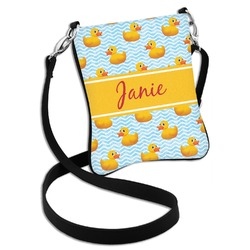 Rubber Duckie Cross Body Bag - 2 Sizes (Personalized)