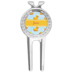 Rubber Duckie Golf Divot Tool & Ball Marker (Personalized)