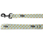 Rubber Duckie Deluxe Dog Leash (Personalized)