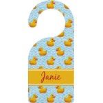 Rubber Duckie Door Hanger (Personalized)