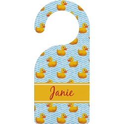 Rubber Duckie Door Hanger (Personalized)