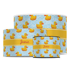 Rubber Duckie Drum Lamp Shade (Personalized)