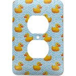 Rubber Duckie Electric Outlet Plate (Personalized)