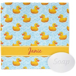 Rubber Duckie Wash Cloth (Personalized)