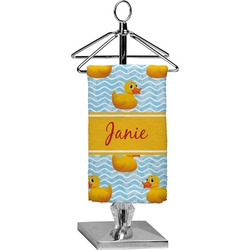 Rubber Duckie Finger Tip Towel - Full Print (Personalized)
