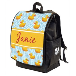 Rubber Duckie Backpack w/ Front Flap  (Personalized)