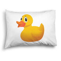 Rubber Duckie Pillow Case - Standard - Graphic (Personalized)
