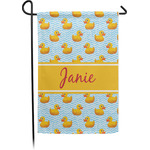 Rubber Duckie Garden Flag (Personalized)