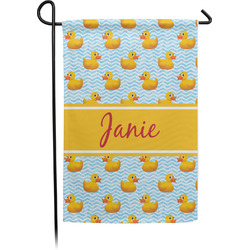 Rubber Duckie Garden Flag - Single or Double Sided (Personalized)