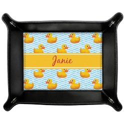 Rubber Duckie Genuine Leather Valet Tray (Personalized)