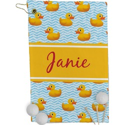 Rubber Duckie Golf Towel - Full Print (Personalized)