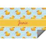 Rubber Duckie Indoor / Outdoor Rug (Personalized)