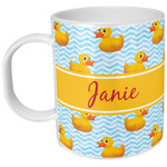 Rubber Duckie Plastic Kids Mug (Personalized)