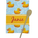 Rubber Duckie Kitchen Towel - Full Print (Personalized)